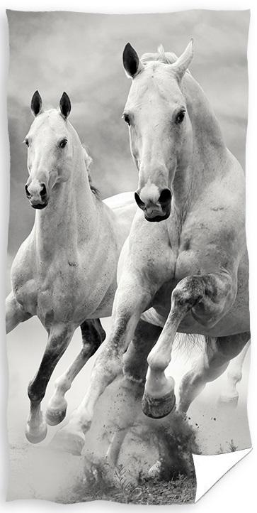 Heste Badehåndklæde – 100 procent bomuld
