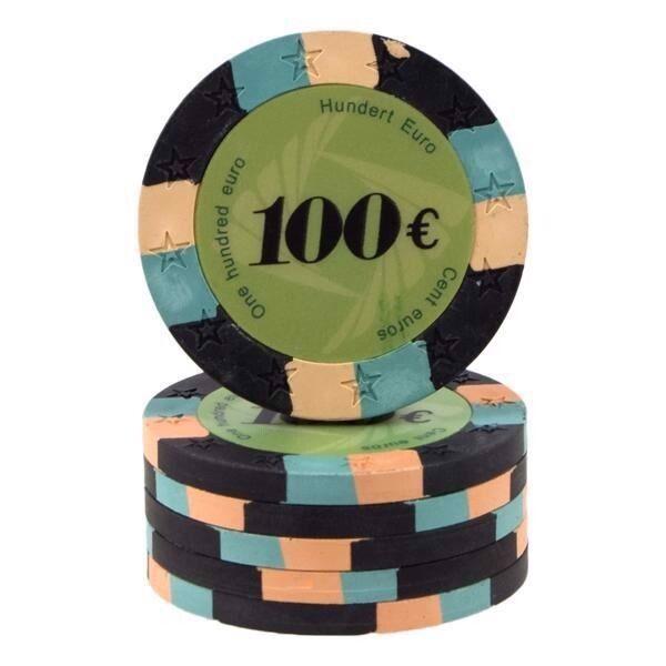 12 Star Clay 100 Euro thumbnail
