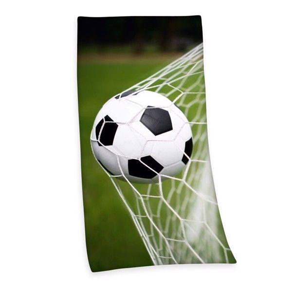 Fodbold Badehåndklæde i 100 Procent Bomuld