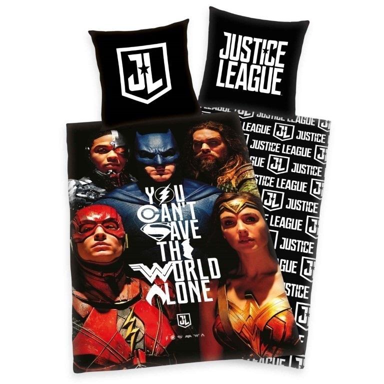Justice League Sengetøj - 100 procent bomuld