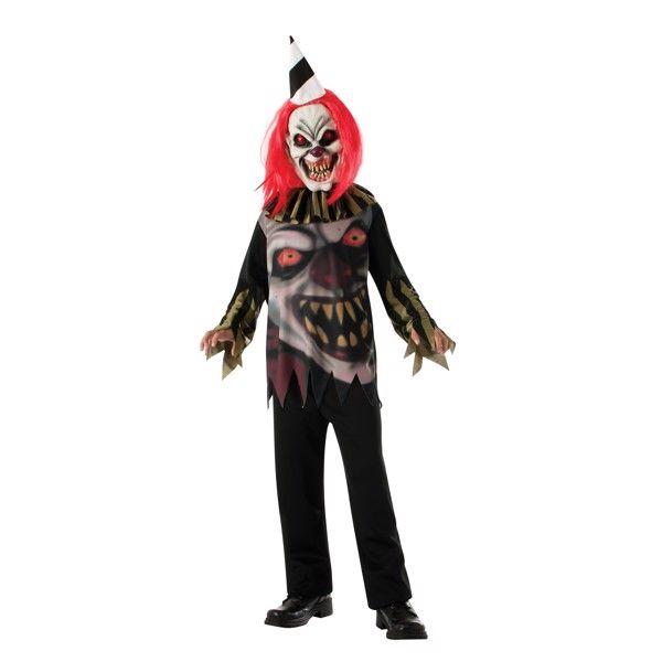 Klovn Halloweenstøj til børn(Str. 137/M)