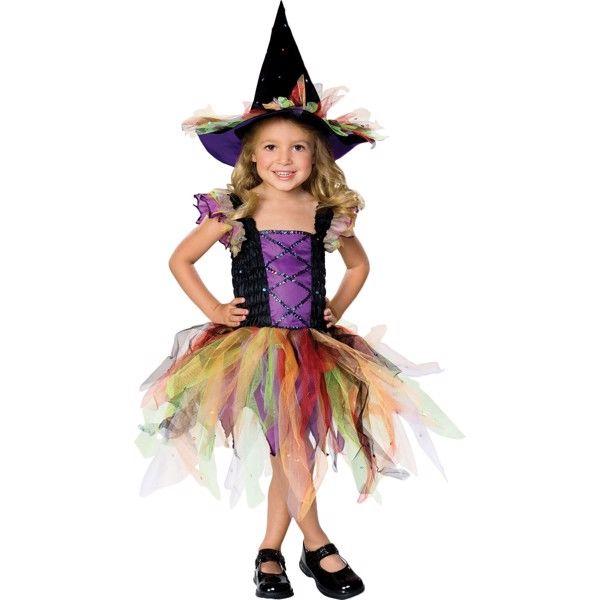 Glitter Heks udklædningstøj til børn(Str. 122/S)