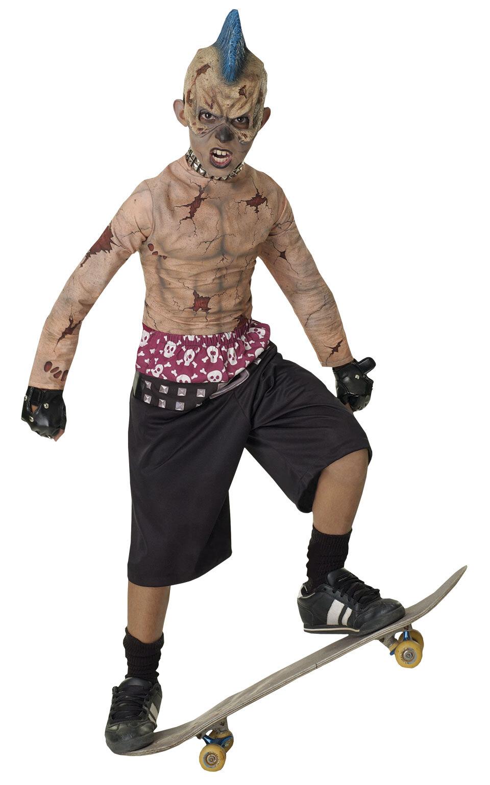 Zombie Skater Halloweenstøj til børn(Str. 137/M)