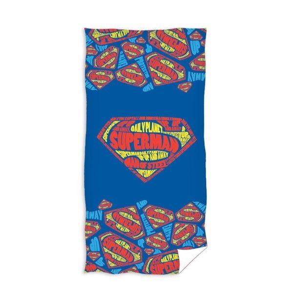 Superman Badehåndklæde i 100 Procent Bomuld
