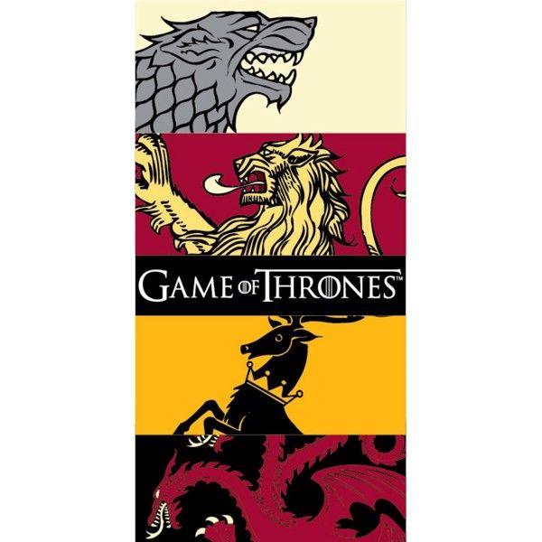Game of Thrones Badehåndklæde i 100 Procent Bomuld