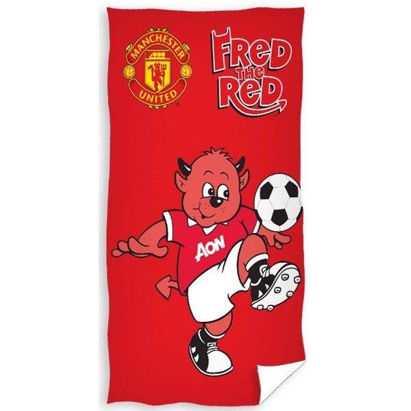 Manchester United Håndklæde – 100 procent bomuld