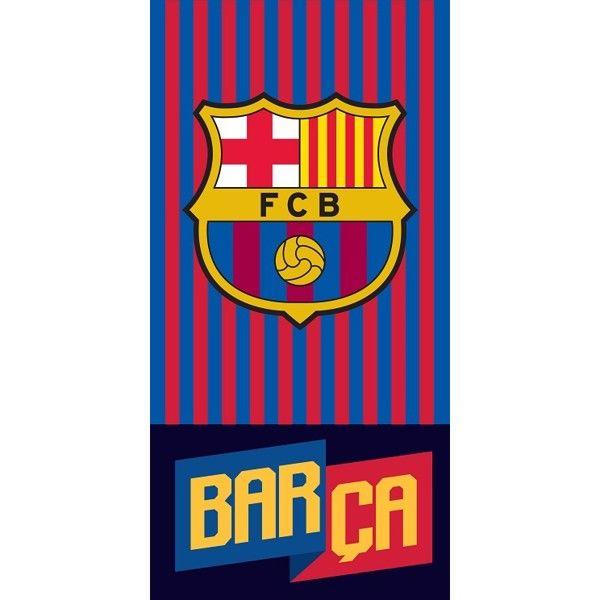 FC Barcelona Badehåndklæde i 100 Procent Bomuld