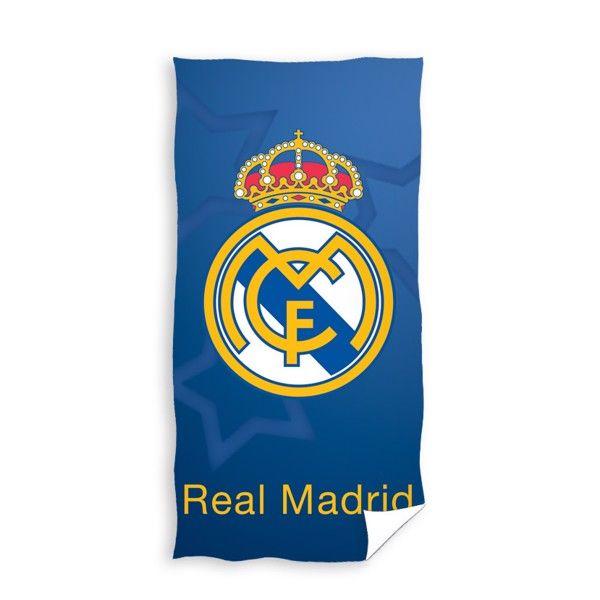 Real Madrid Badehåndklæde i 100 Procent Bomuld