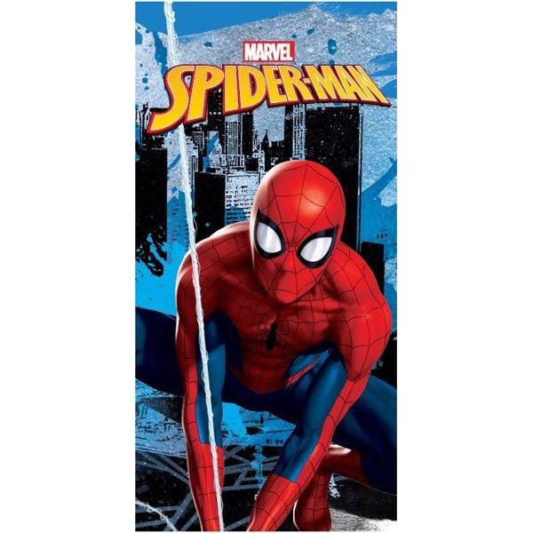 Spiderman Badehåndklæde i 100 Procent Bomuld