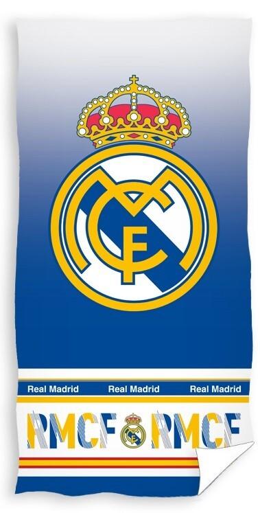 Real Madrid Badehåndklæde – 100 procent bomuld 70 x 140 cm