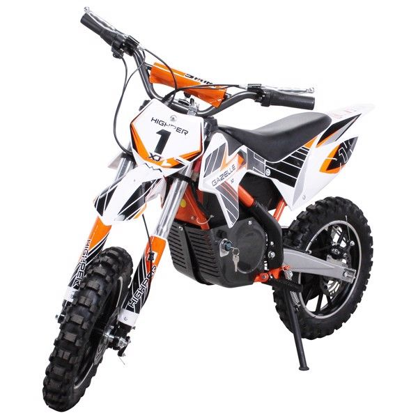 500W Dirtbike Gazelle for børn - ORANGE thumbnail