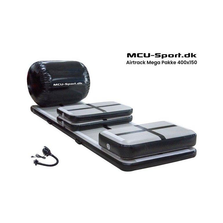 MCU-Sport Airtrack Mega Startpakke 400x150x20 cm