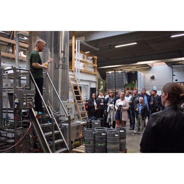 Ølsmagning hos Århus Bryghus – smag 6 forskellige øl direkte fra bryghuset