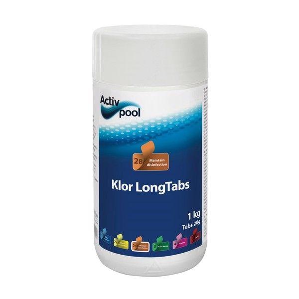ActivPool Klor LongTabs 20g 1kg thumbnail
