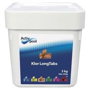 ActivPool Klor LongTabs 5kg thumbnail