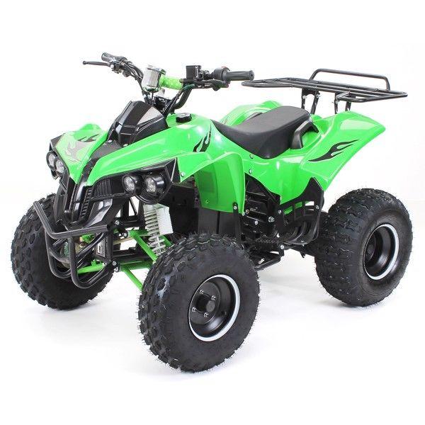 1000W 48V El-ATV Warrior Grøn thumbnail