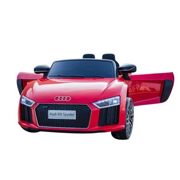 Audi R8 Rød - 12V - 3 hastigheder