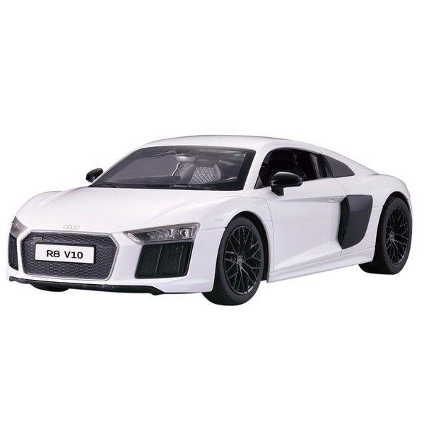 Fjernstyret Audi R8 i Hvid