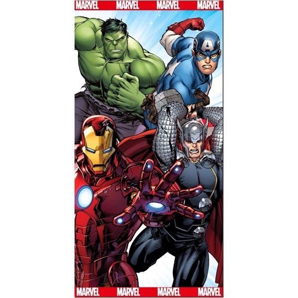 Avengers Badehåndklæde i 100 Procent Bomuld