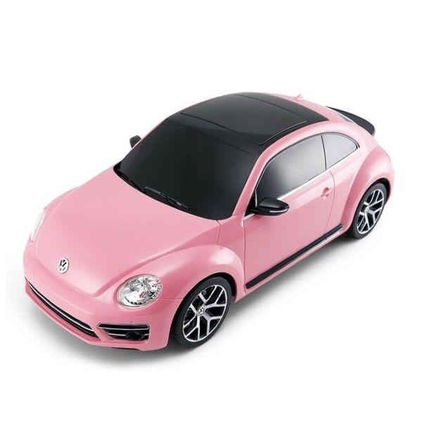 Fjernstyret VW Beetle i Pink