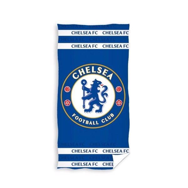 Chelsea FC Badehåndklæde i 100 Procent Bomuld