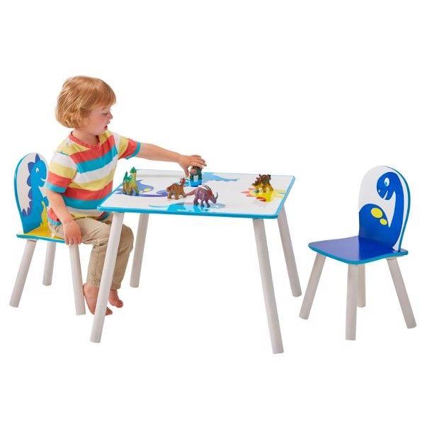 Dinosaur bord og stole