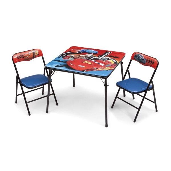 Disney Biler McQueen bord og stole