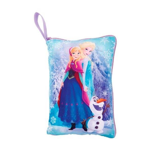 Billede af Disney Frost Skjul-og-Sove 2i1 Pude