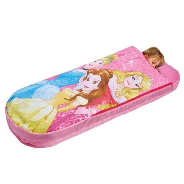 Billede af Disney Prinsesse Junior ReadyBed/Gæsteseng med Sovepose