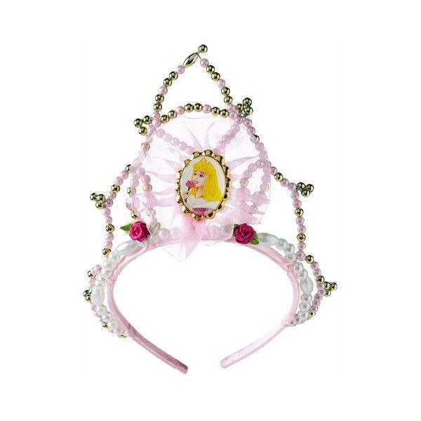 Disney Prinsesse Tornerose Tiara med Perler