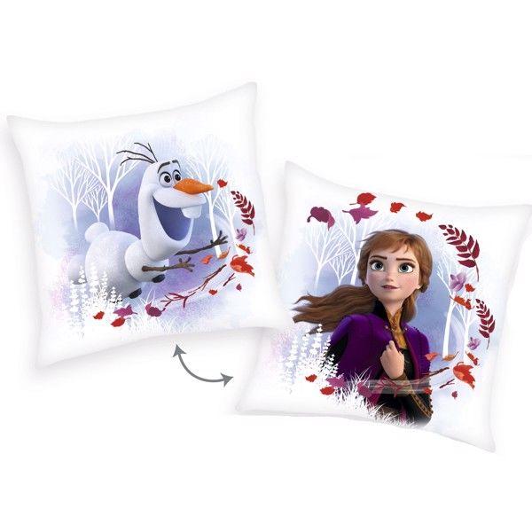 Billede af Disney Frost Pude med Anna og Olaf