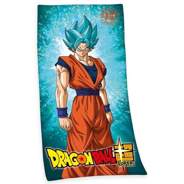 Dragonball Badehåndklæde i 100 Procent Bomuld