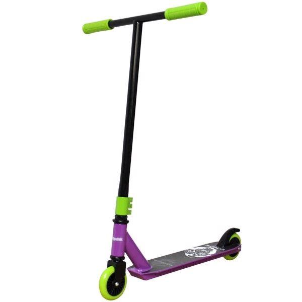 Billede af Extreme Trick Løbehjul 6.0 til børn Lilla/Lime