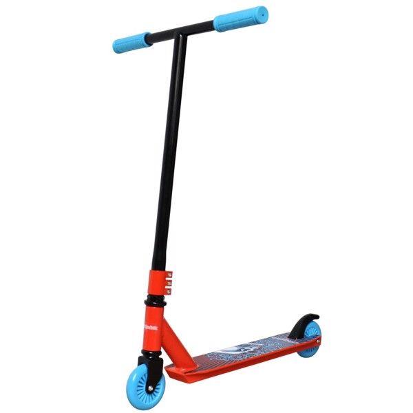 Billede af Extreme Trick Løbehjul 6.0 til børn Orange/Blå