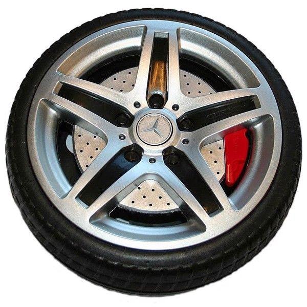 Hjul til Mercedes 12V elektrisk børnebil