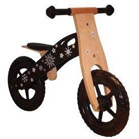Løbecykel med lufthjul og et sejt look