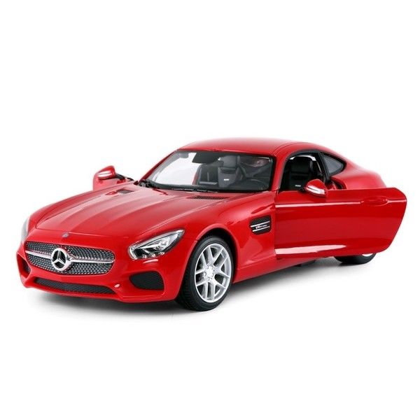 Fjernstyret Mercedes AMG GT med fjernstyrede døre