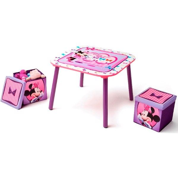 Minnie Mouse møbelsæt