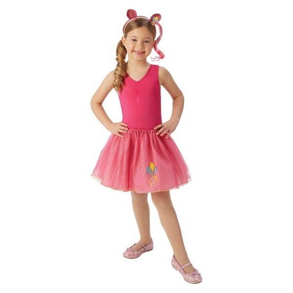 My Little Pony Pinkie Pie Strutskørt (Str. 4-8 år)