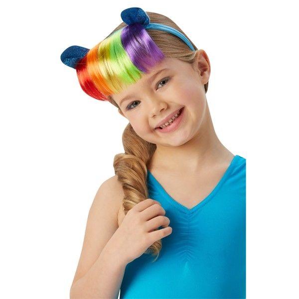 My Little Pony Rainbow Dash Hårbøjle med Ører og Pandehår