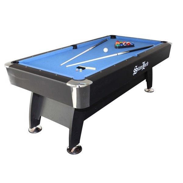 7 fods poolbord Milano Stanlord i blå thumbnail