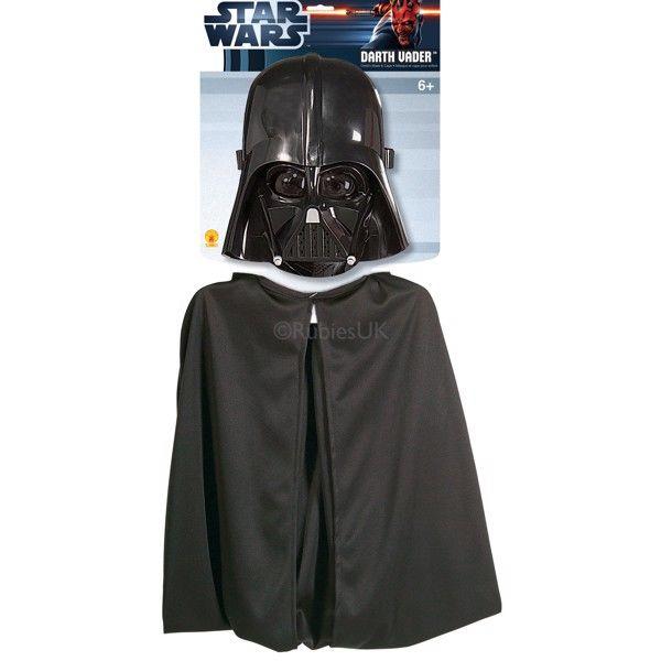 Star Wars Darth Vader Kappe og Maske sæt