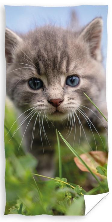 Kattekilling Badehåndklæde – 100 procent bomuld