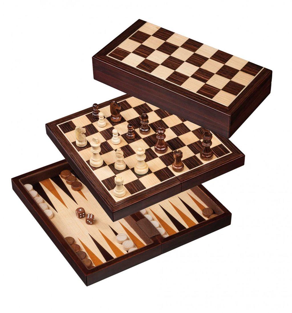 Skak, backgammon og dam