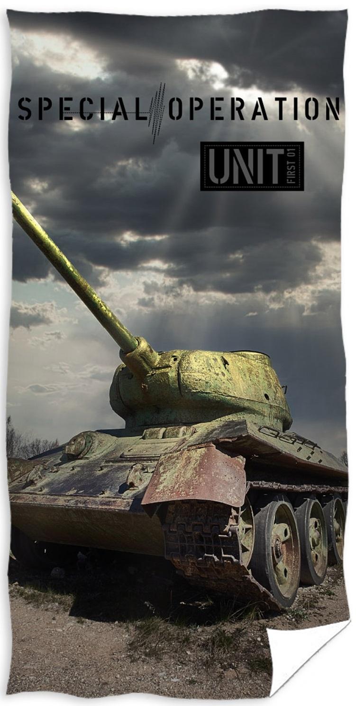 Tank Army Badehåndklæde – 100 procent bomuld